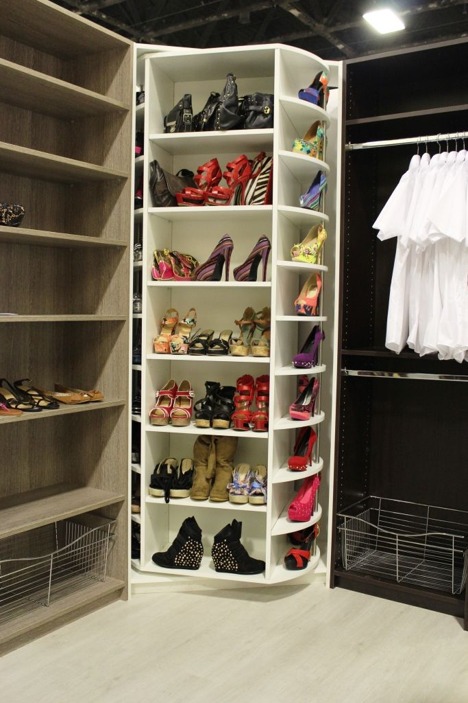Innovative closet system A dream come