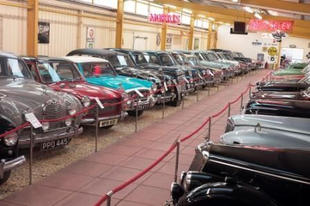 Haynes Motor Museum, has over 400 amazing cars and bikes. Also do track days at Haynes Motor Museum