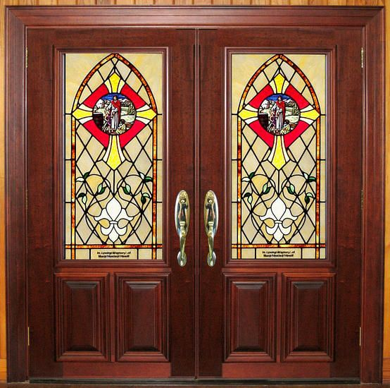 18 best images about church doors on pinterest for Exterior glass doors for churches