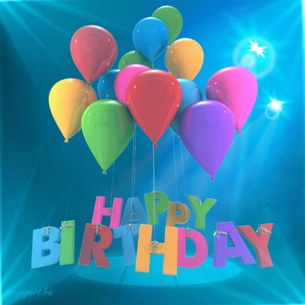 Happy Birthday (animated eCard)