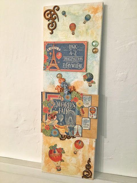 Il Dire Il Fare - Graphic 45 - Collezione Worlds Fair