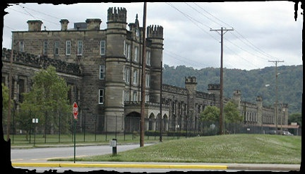 Why is the Moundsville W.V. Prison so Haunted?  Could be the 70 foot burial mound in front that was constructed as a portal for the dead.