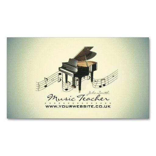 7 best studio business images on pinterest business cards carte musicianmusic teacher business card colourmoves
