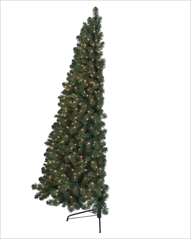 25 Most Popular Christmas Tree Decorating Ideas Viralinspirations Half Christmas Tree Wall Mounted Christmas Tree Wall Christmas Tree