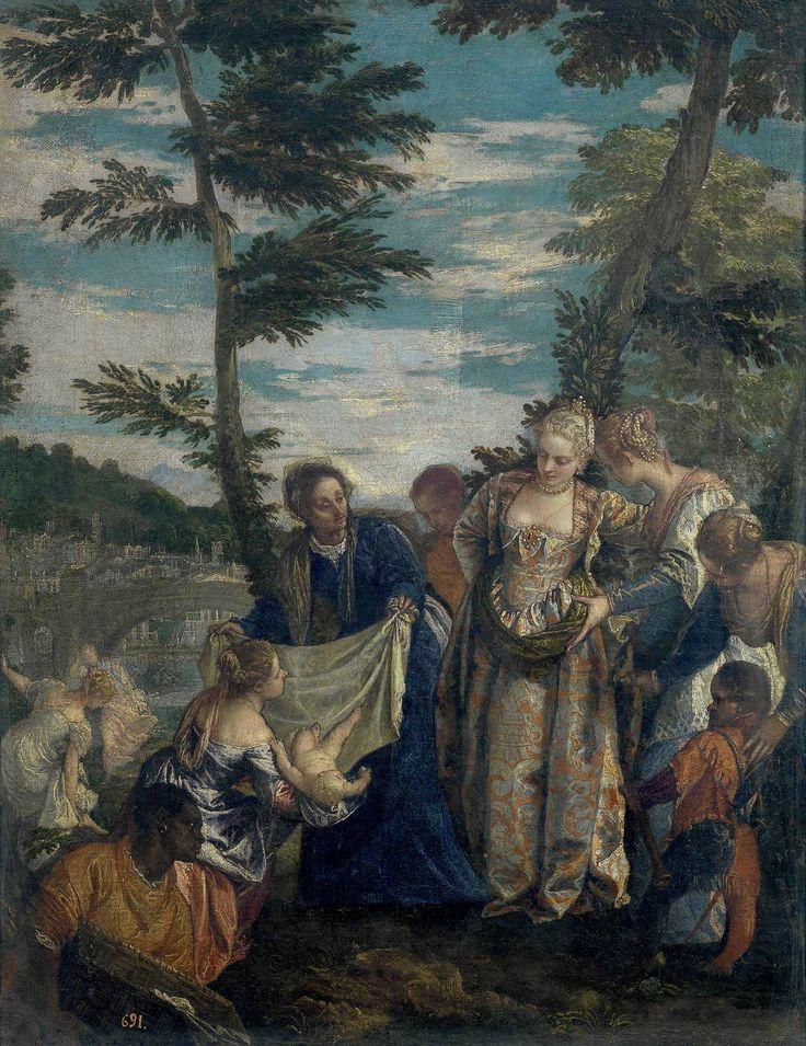 Paolo Veronese, Mosè salvato dalle Acque, Museo del Prado Madrid