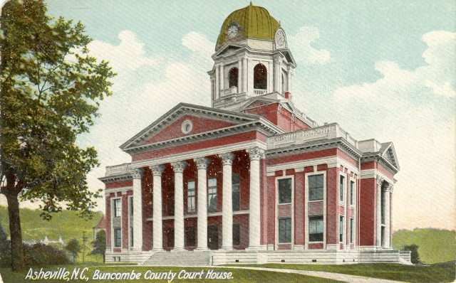 Buncombe County NC 1903