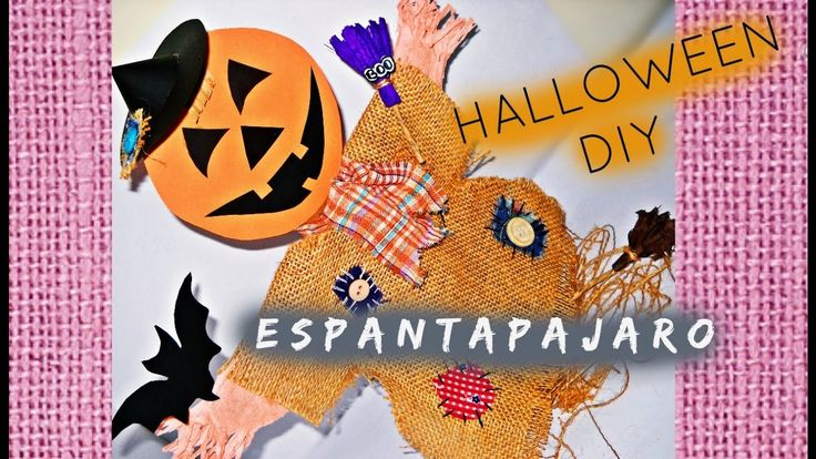 ESPANTAPAJARO || HALLOWEEN DIY ||SCARECROW CRAFT DIY  #scarecwow diy #crafthalloween #halloweenideas #halloweenscarecrwow #manualidadesparahalloween #decoracionesparahalloween #yute #sombrerodebruja #calabaza