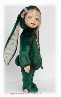 Бабочки в голове: тедди-долл