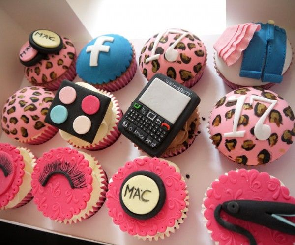 Teenage girl birthday cupcakes Food Pinterest Hard ...