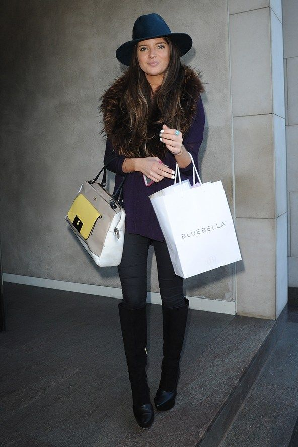 Binky from Made In Chelsea, she is both gorgeous and stylish.