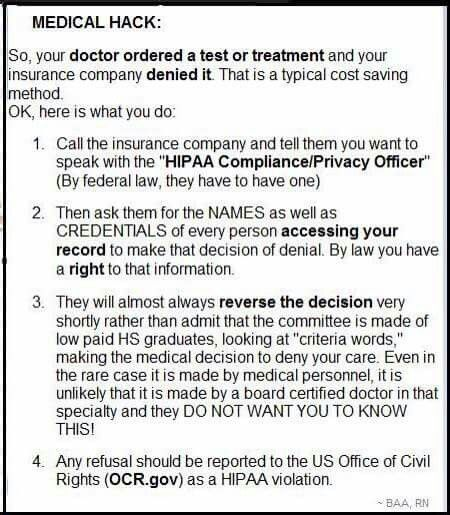 This is a Facebook post. I am not sure of the accuracy of this info, but if you're up against it, it can't hurt to try.