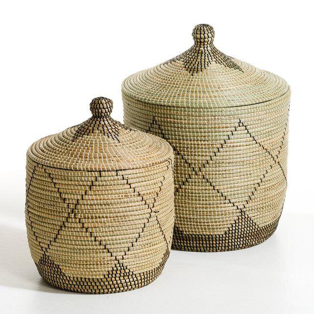 Autres Image Panier paille de riz, Louna AM.PM