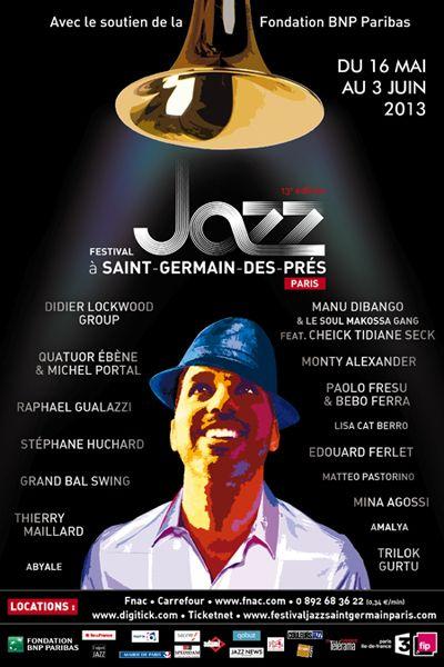 Festival Jazz à Saint-Germain-des-Prés Paris
