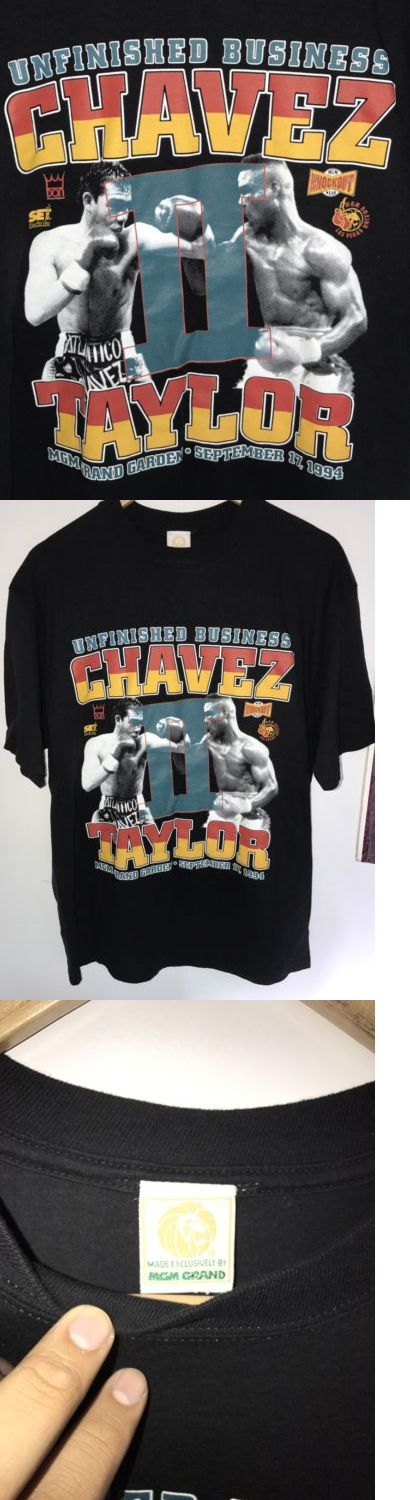 Boxing 1227: Julio Cesar Chavez Vs Meldrick Taylor Vtg 1994 Mgm Grand Boxing Shirt Sz Xl -> BUY IT NOW ONLY: $80 on eBay!