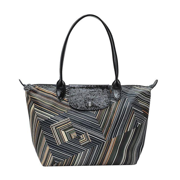 Longchamp OP art tote