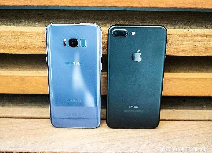 Best mobile...?_  1_Iphone 7plus  2_Galaxy S8+  #200k #iphone #iphone7 #mobile #mobiles #galaxys7 #iOS10 #galaxy #blacksea #waters #goodmorningpost #androidnesia #cameras #touch #id #10ヶ月#mp4 #ipadpro #applewatch #applebees #nicecream#2017 #20