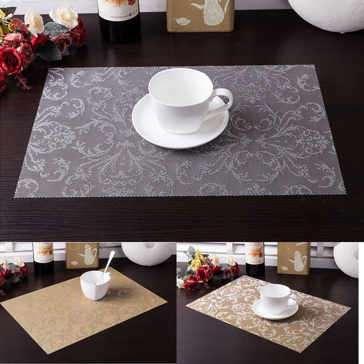 New High-quality Printing restaurant kitchens Placemats Insulation Mats Table Coasters Dining Sales #Affiliate