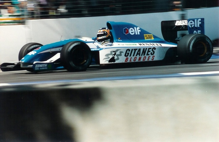 Thierry Boutsen , Ligier JS37 - Renault V10,1992