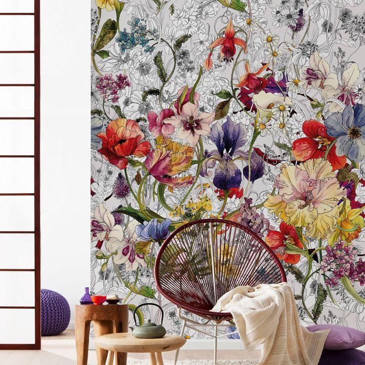 Flora Mural   Komar