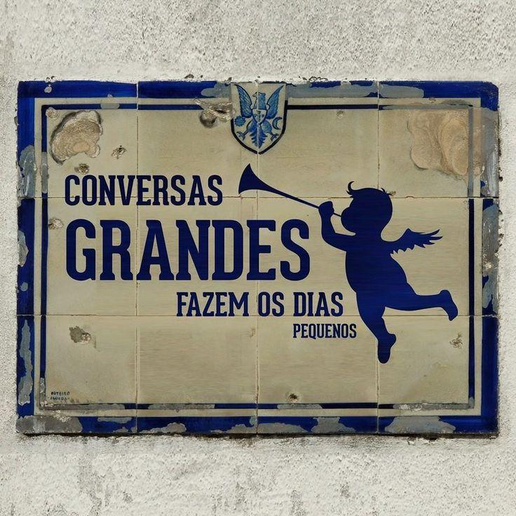 azulejos portugueses com frases - Pesquisa Google