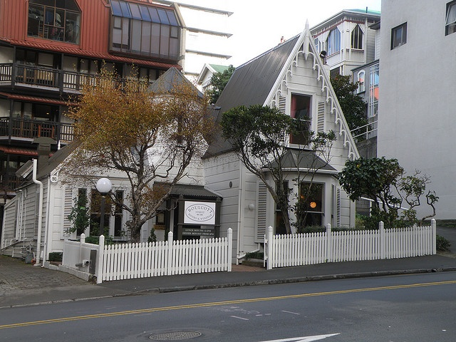 Plimmer House, Wellington, New Zealand. Now home to the Boulcott Street Bistro.