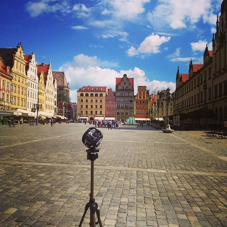 360 shooting at Wroclaw #vr #oculus #360view #360movie #virtualreality #VRPREMIUM