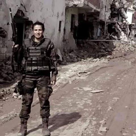Ankara-Gölbaşı'da şehit olan Özel Harekat Polisi Kübra Doğanay
