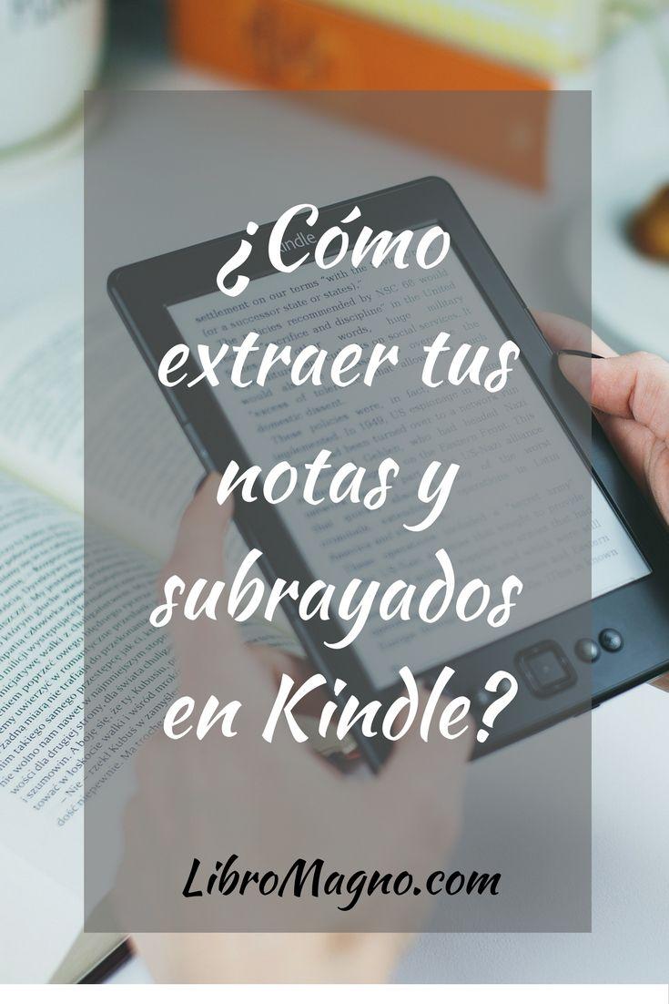 Nuevo consejo en #libromagno Aprende a extraer tus notas y subrayados de Kindle. http://www.libromagno.com/2017/08/consejo-como-extraer-tus-notas-y.html