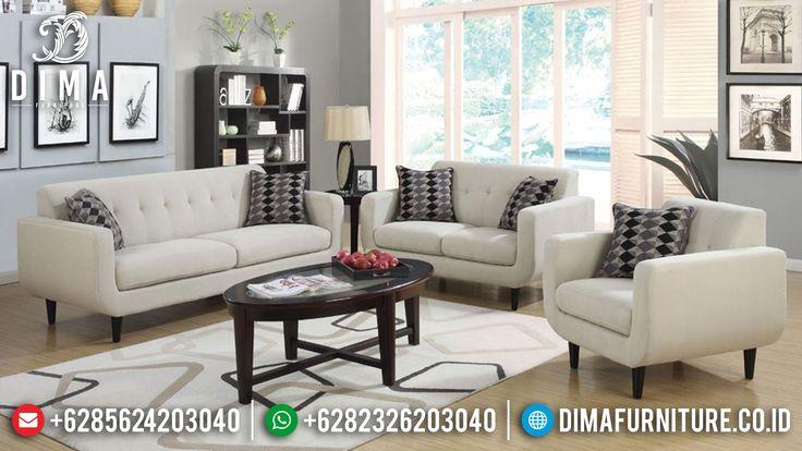 Sofa Tamu Minimalis Modern Terbaru Jati Jepara DF-0345