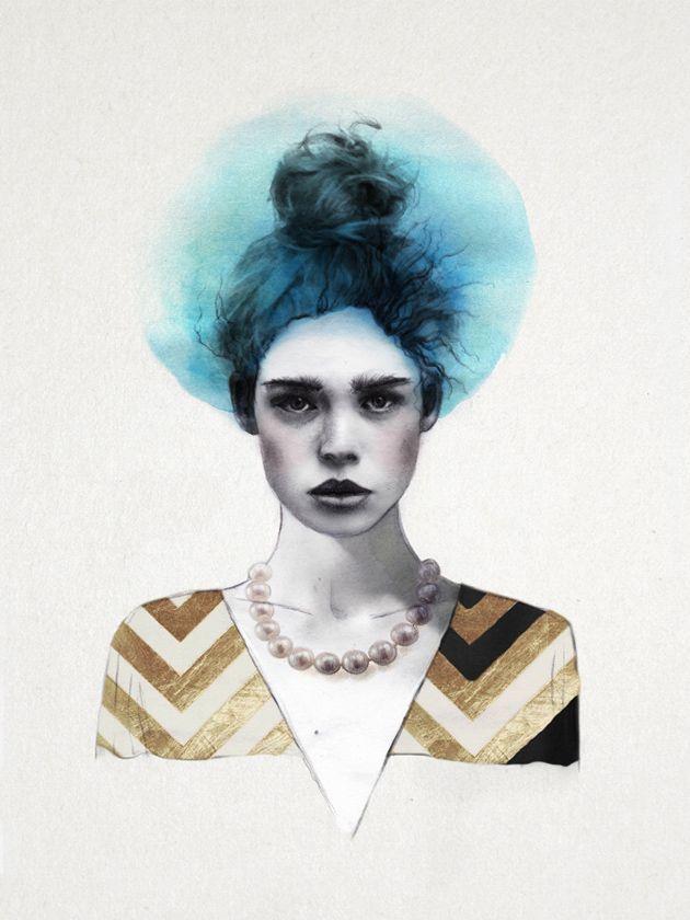 Selbstbewußte Fashion-Illustrationen von Jenny Liz Rome