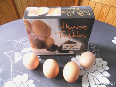 >Huevos trufados