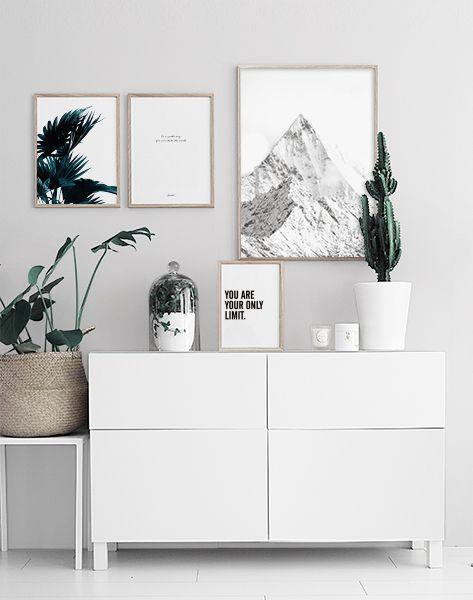 Pure & Minimalistic Hallway | Desenio