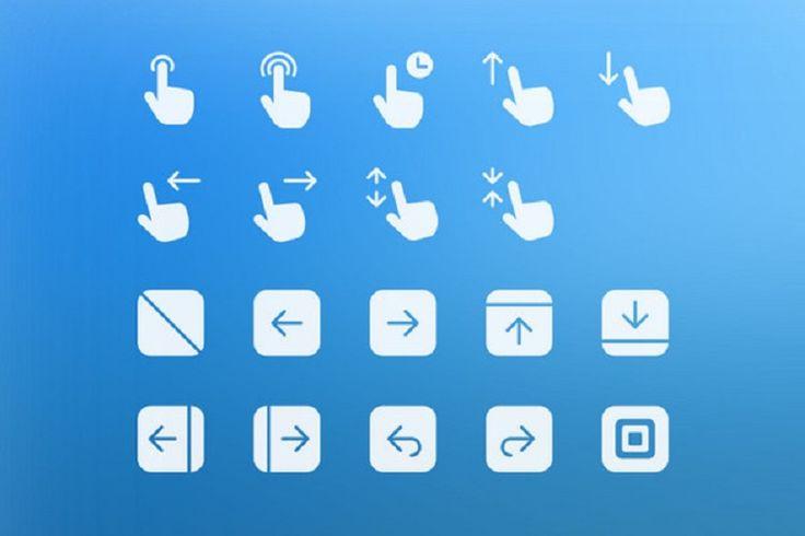 С развитием дизайна мобильных приложений конструкций, символы, которые визуализируют различные стандартные команды стали одними из самых востребованных видов графических инструментов.Они