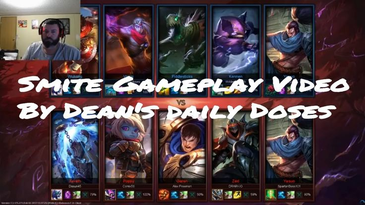 Smite Gameplay Video by deansdailydoses/ Awesome Game Xbox One✔️
