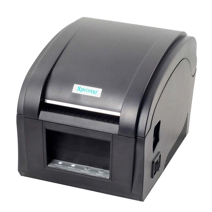Cheaper Thermal barcode printer 80mm sticker printer machine usb label printer with big gear wheel 152mm/s xp-360b