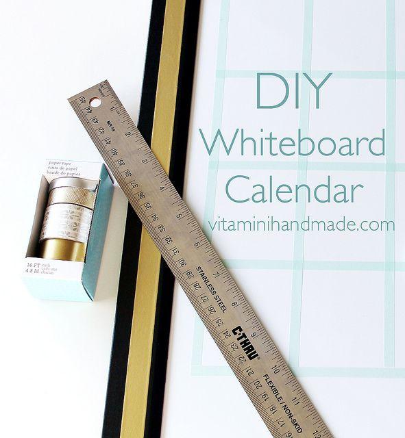 Whiteboard Calendar Diy : Best images about dry erase boards on pinterest