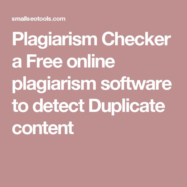 Plagiarism Checker a Free online plagiarism software to detect Duplicate content