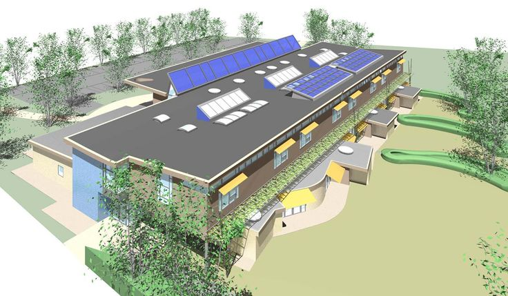 Uplands School Architecture
