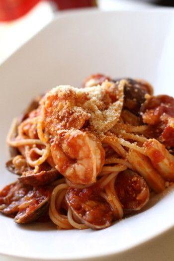 保存版】家庭の味から本格派まで!美味しいパスタのレシピ帖 | キナリノ ペスカトーレ