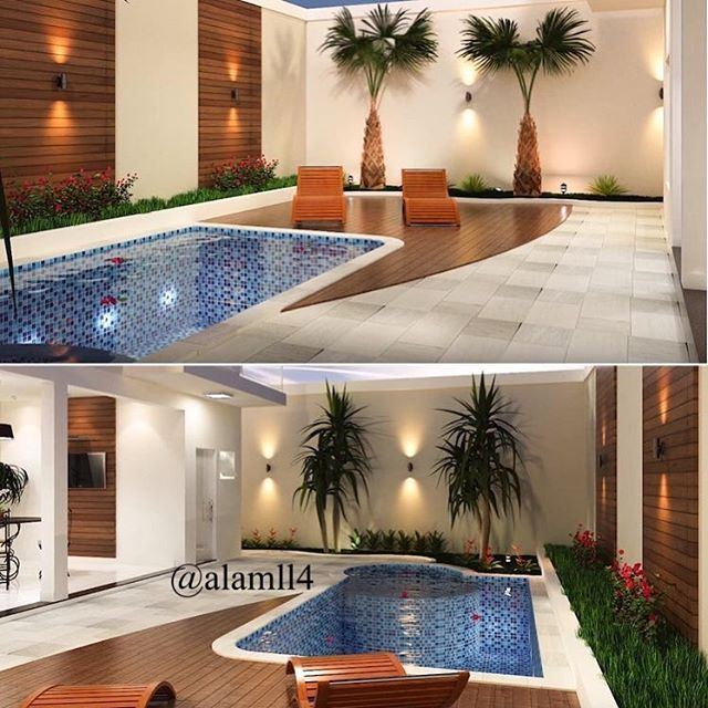 New The 10 Best Home Decor Ideas Today With Pictures صور لبعض التصميمات وديكورات لمنطقة المسبح ارج Patio De Quintal Patio Com Piscina Casas Com Piscina