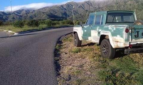 Jeep Gladiator Doble Cabina, Motor Nissan Ld 28, Caja De 5° - $ 85.000,00