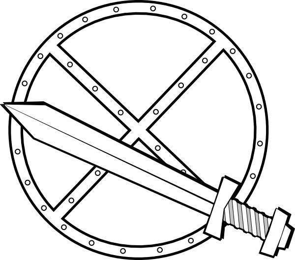 Sword And Shield Clip Art