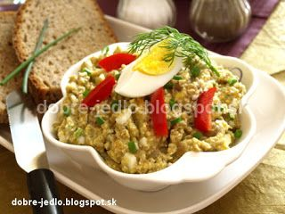 Šošovicová nátierka so zeleninou - recepty
