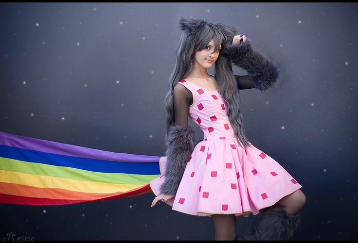 Otaku House Cosplay Idol » Anshie: Nyan Cat