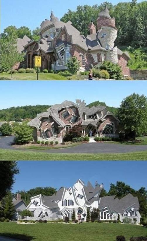 만화나 동화 속에서나 등장할 법한 '실제로 있는 집'이 누리꾼들의 관심을 끌고 있다.     최근 온라인 커뮤니티 게시판을 중심으로 '실제로 있는 집'이라는 제목과 함께 사진이 게재됐다.