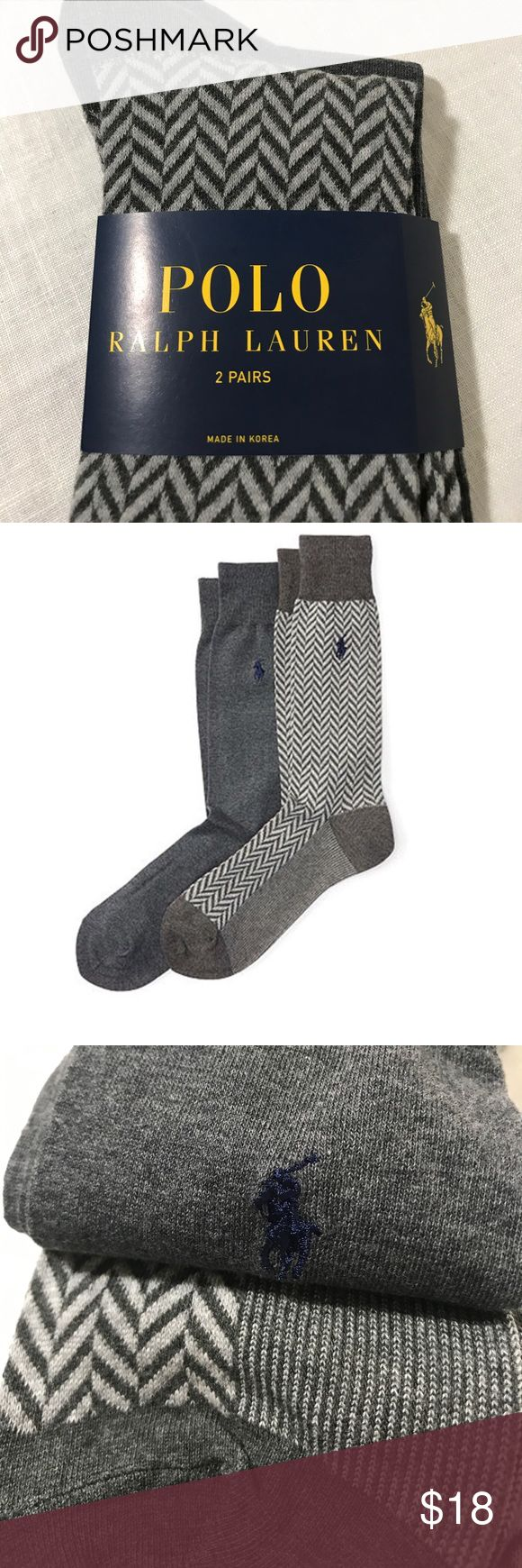 Polo Ralph Lauren Stretch Trouser Sock 2-Pack Polo Ralph Lauren Stretch Trouser Sock 2-Pack (Shoe Size 6 - 12.5) 60% cotton 31% polyester 7% Nylon 2% Spandex. Soft fabric Polo by Ralph Lauren Underwear & Socks Dress Socks