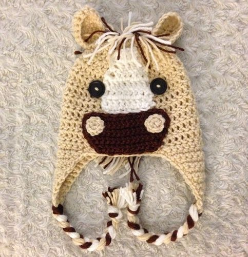 Free Crochet Pattern For Horse Hat : 17 Best images about Horse hat on Pinterest Hat crochet ...