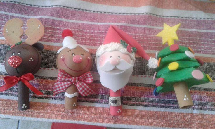 Punteras navideñas