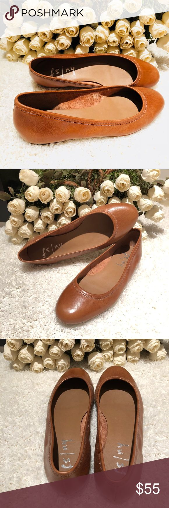 FS/NY French Sole Tan Leather Ballet Flat NWOB Tan Leather Ballet Flats — Brand: French Sole New York (FSNY) — Size: 7.5 — Color: Camel/ Tan — Material: Cuoio Leather — New Without Box FS/NY Shoes Flats & Loafers