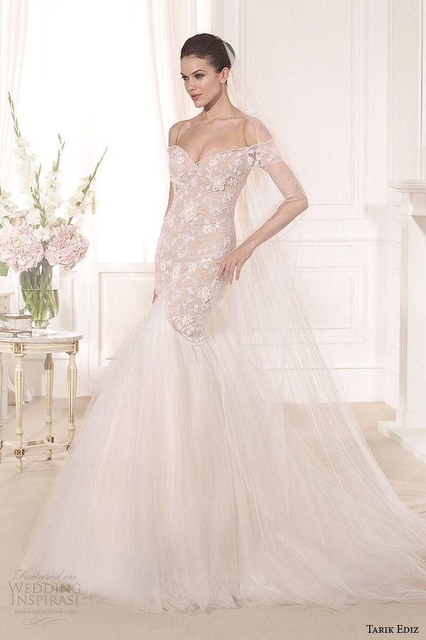 Tarik Ediz White 2014 Wedding Dresses — Part 2 | Wedding Inspirasi
